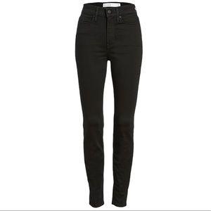 AYR Black High Rise Skinny Jeans